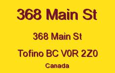 368 Main St 368 Main V0R 2Z0