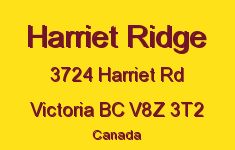 Harriet Ridge 3724 Harriet V8Z 3T2