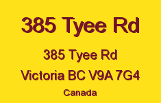 385 Tyee Rd 385 Tyee V9A 7G4