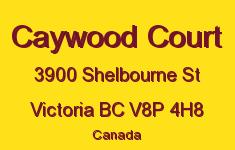 Caywood Court 3900 Shelbourne V8P 4H8