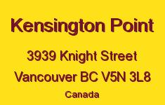 Kensington Point 3939 KNIGHT V5N 3L8