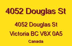 4052 Douglas St 4052 Douglas V8X 0A5