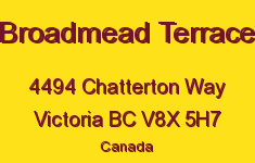 Broadmead Terrace 4494 Chatterton V8X 5H7
