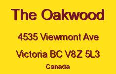 The Oakwood 4535 Viewmont V8Z 5L3