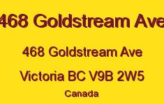 468 Goldstream Ave 468 Goldstream V9B 2W5