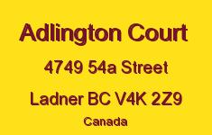 Adlington Court 4749 54A V4K 2Z9