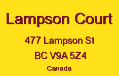 Lampson Court 477 Lampson V9A 5Z4