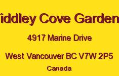 Tiddley Cove Gardens 4917 MARINE V7W 2P5