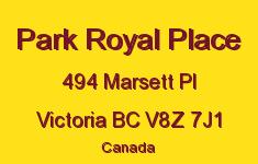 Park Royal Place 494 Marsett V8Z 7J1