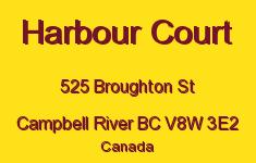 Harbour Court 525 Broughton V8W 3E2