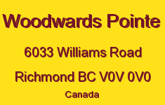 Woodwards Pointe 6033 WILLIAMS V0V 0V0