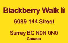 Blackberry Walk Ii 6089 144 N0N 0N0