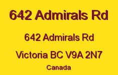642 Admirals Rd 642 Admirals V9A 2N7