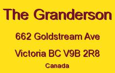 The Granderson 662 Goldstream V9B 2R8