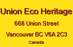 Union Eco Heritage 668 UNION V6A 2C3