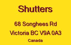 Shutters 68 Songhees V9A 0A3