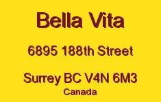 Bella Vita 6895 188TH V4N 6M3