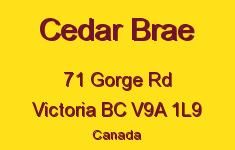 Cedar Brae 71 Gorge V9A 1L9