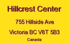 Hillcrest Center 755 Hillside V8T 5B3