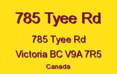785 Tyee Rd 785 Tyee V9A 7R5