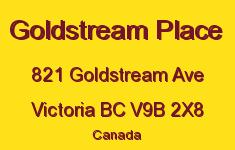 Goldstream Place 821 Goldstream V9B 2X8