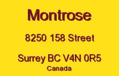 Montrose 8250 158 V4N 0R5