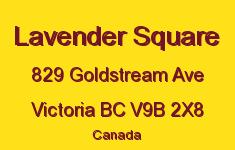 Lavender Square 829 Goldstream V9B 2X8