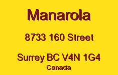 Manarola 8733 160 V4N 1G4