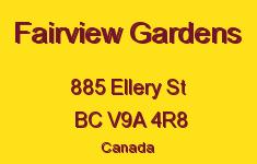 Fairview Gardens 885 Ellery V9A 4R8