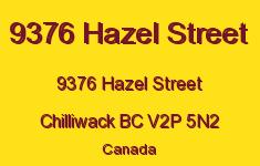 9376 Hazel Street 9376 HAZEL V2P 5N2