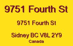 9751 Fourth St 9751 Fourth V8L 2Y9