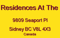 The Residences At The Pier 9809 Seaport V8L 4X3