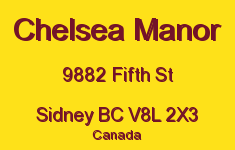 Chelsea Manor 9882 Fifth V8L 2X3