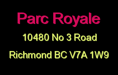 Parc Royale 10480 NO 3 V7A 1W9