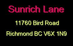 Sunrich Lane 11760 BIRD V6X 1N9