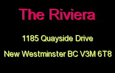 The Riviera 1185 QUAYSIDE V3M 6T8