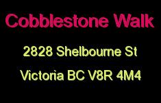 Cobblestone Walk 2828 Shelbourne V8R 4M4