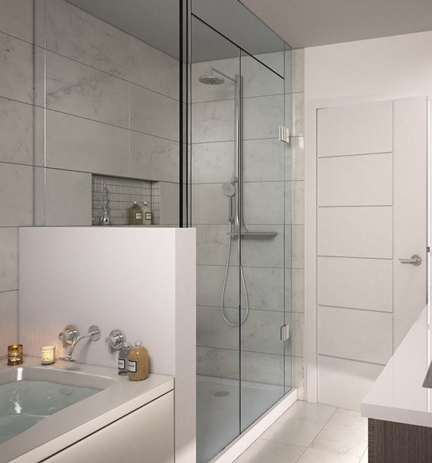 182 W 63rd Ave, Vancouver, BC V5X 2H6, Canada Bathroom!