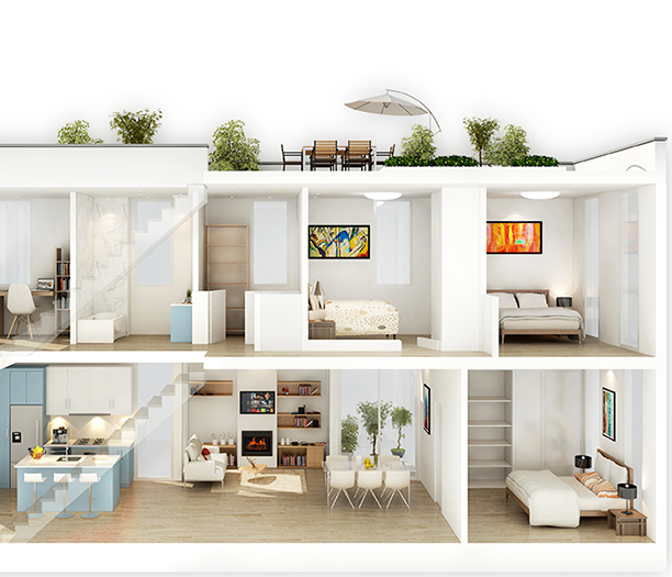 1415 East 1st Avenue, Vancouver, BC V5N 1A4 Canada Rendering!