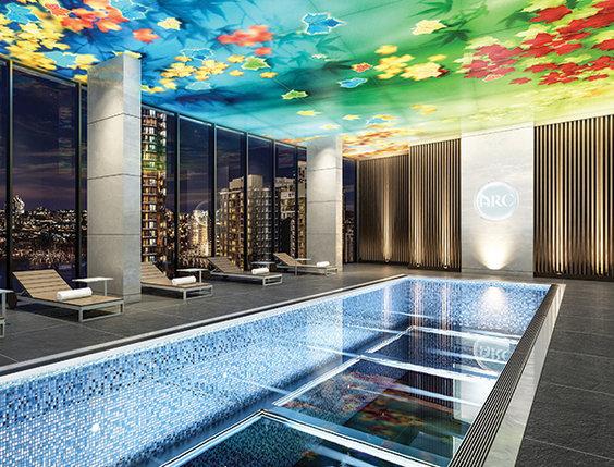 Swimming Pool 20th Floor!