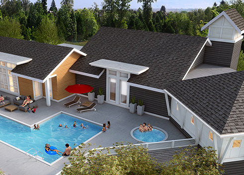 15918 Mountain View Dr, Surrey, BC V3S 0C6, Canada Clubhouse Pool!