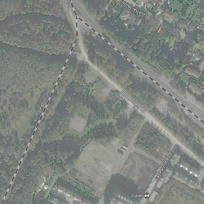 1150 Bailey Street, Squamish, BC V8B, Canada Aerial View!