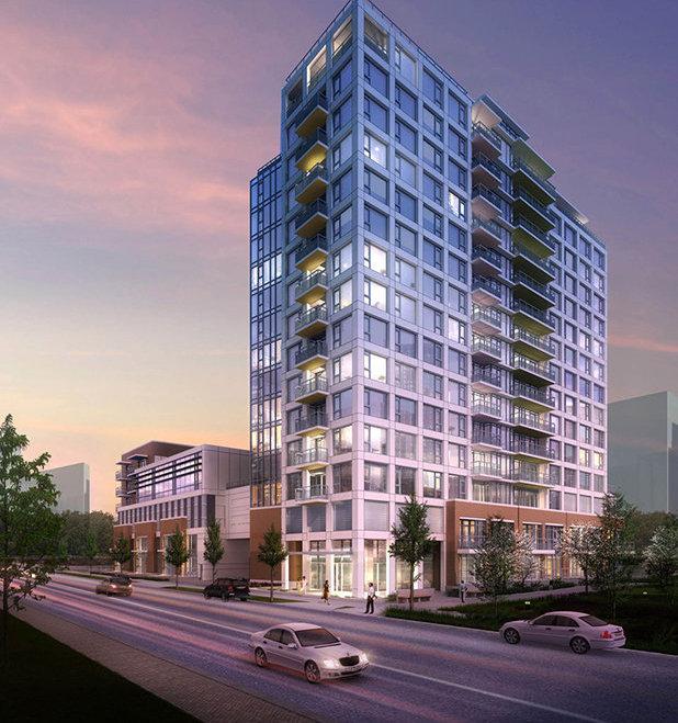9019 Cook Road, Richmond, BC V6Y 0G6, Canada Condo Tower Exterior!