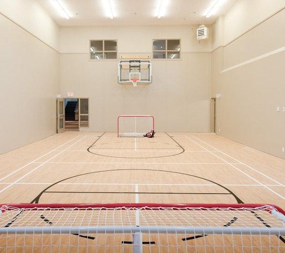 Floor Hockey, Basket Ball at the Nakoma club!