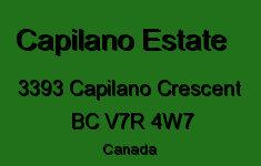 The Capilano Estate 3393 CAPILANO V7R 4W7