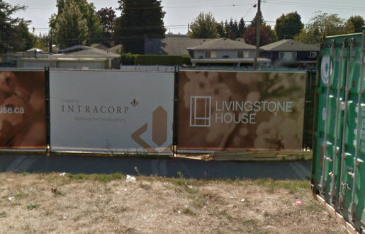 Livingstone House Construction Zone!