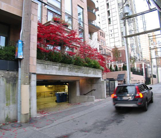Underground Parking Entrance!