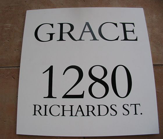Address For Grace Tower!