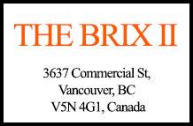 The Brix II 3637 Commercial V5N 4G1