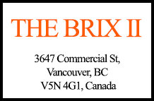 The Brix II 3647 Commercial V5N 4G1